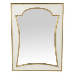 Regency Champagne Seagrass Mirror | Kathy Kuo Home