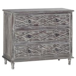 Ricky Rustic Lodge Distressed Fascia Wood Dresser | Kathy Kuo Home