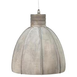 Romy Rustic French Grey Concrete Shade Pendant Lantern | Kathy Kuo Home