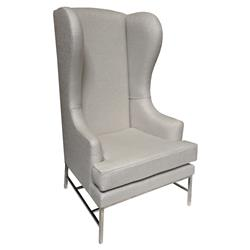 Silver Moon Oly Studio Harper Wing Chair | Kathy Kuo Home