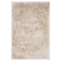 Sona Hollywood Modern Sleek Beige Shag Rug - 3'6x5'6 | Kathy Kuo Home