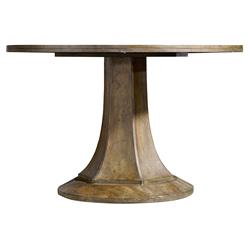 Soren Modern Classic Pedestal Dining Table | Kathy Kuo Home