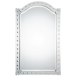 Sunset Hollywood Regency Beveled Arch Frame Venetian Mirror | Kathy Kuo Home