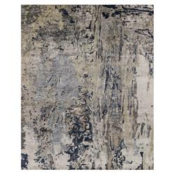 Tisa Modern Classic Canyon Navy Grey Marbled Rug - 5'6x8'6 | Kathy Kuo Home