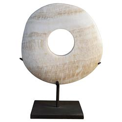 Vandan Classic White Onyx Sculpture - Large | Kathy Kuo Home