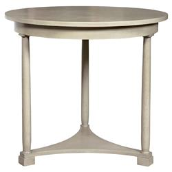 Vanguard Cyril Coastal Ivory Cedar Side Table | Kathy Kuo Home