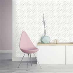 Washed on White Connect-the-Dots Removable Wallpaper | Kathy Kuo Home