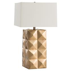 Waylon Regency Antique Brass Table Lamp | Kathy Kuo Home