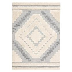Wenham Modern Classic Ivory Black Pattern Outdoor Rug - 2x3'7 | Kathy Kuo Home