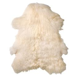 Winchester Modern Classic Off White Icelandic Sheep Fur Rug - Set of 2 | Kathy Kuo Home