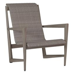 Wind Oyster Grey Wicker Outdoor Lounge Chair | Kathy Kuo Home