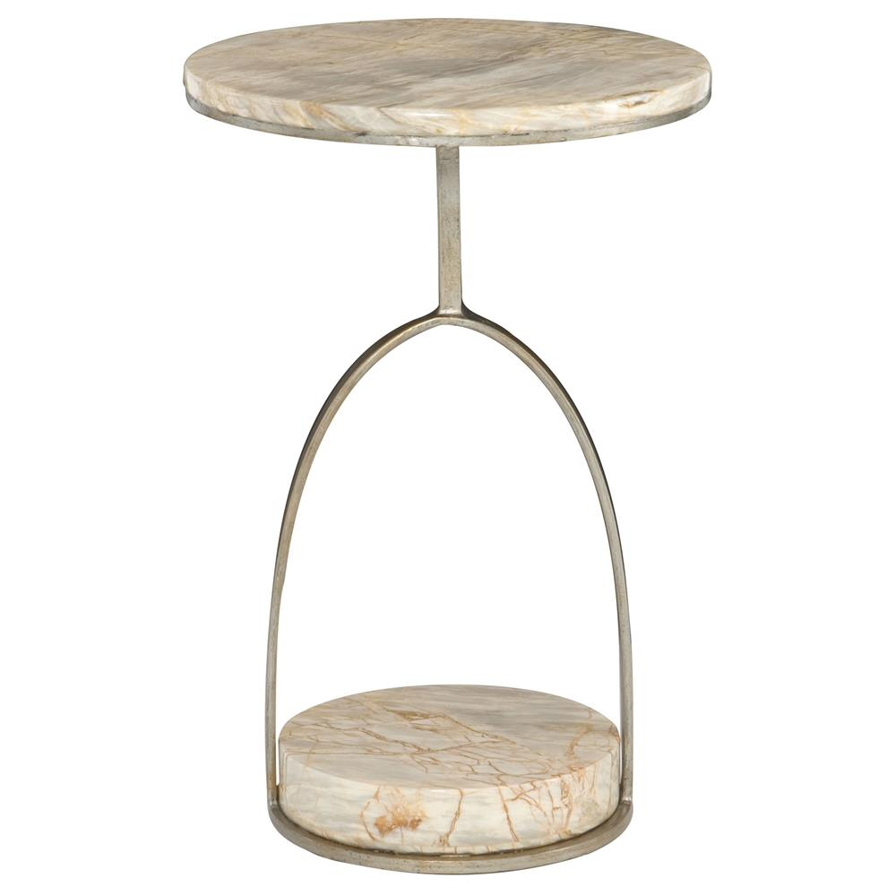 Geneva modern classic round marble side end table kathy for Round marble side table