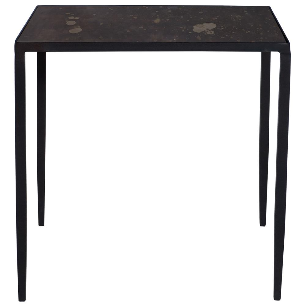 Bronze Industrial Coffee Table: Jacoby Industrial Loft Aged Iron Bronze Mirror Bunching