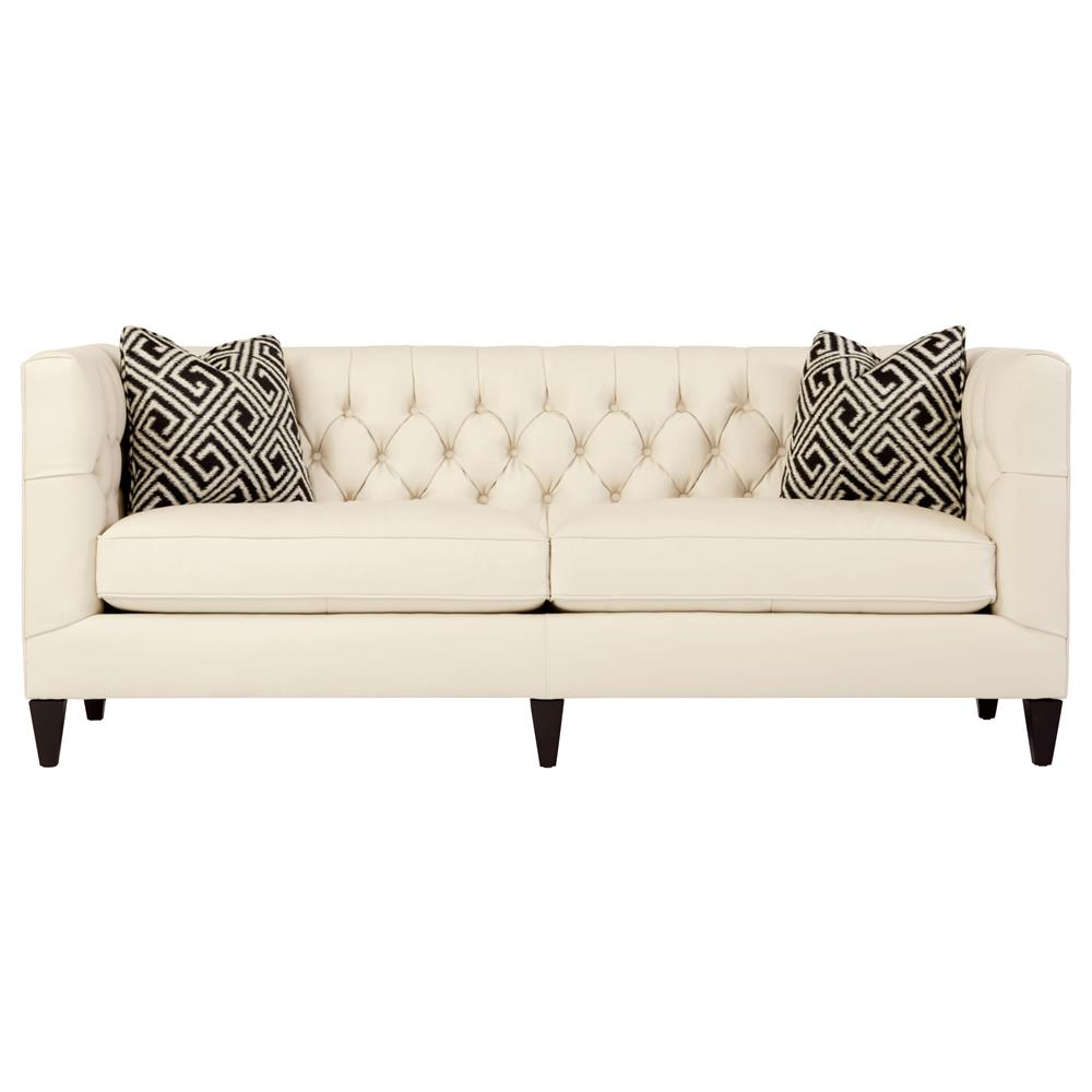 Cream Tufted Sofa Meridian Furniture 609cream S Lucas Cream Tufted Velvet Sofa W Thesofa