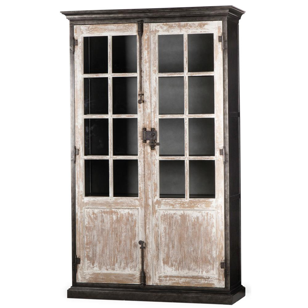 wood crate throughout and iron glass bookcase perfect barrel espan bookcases ideas us metal