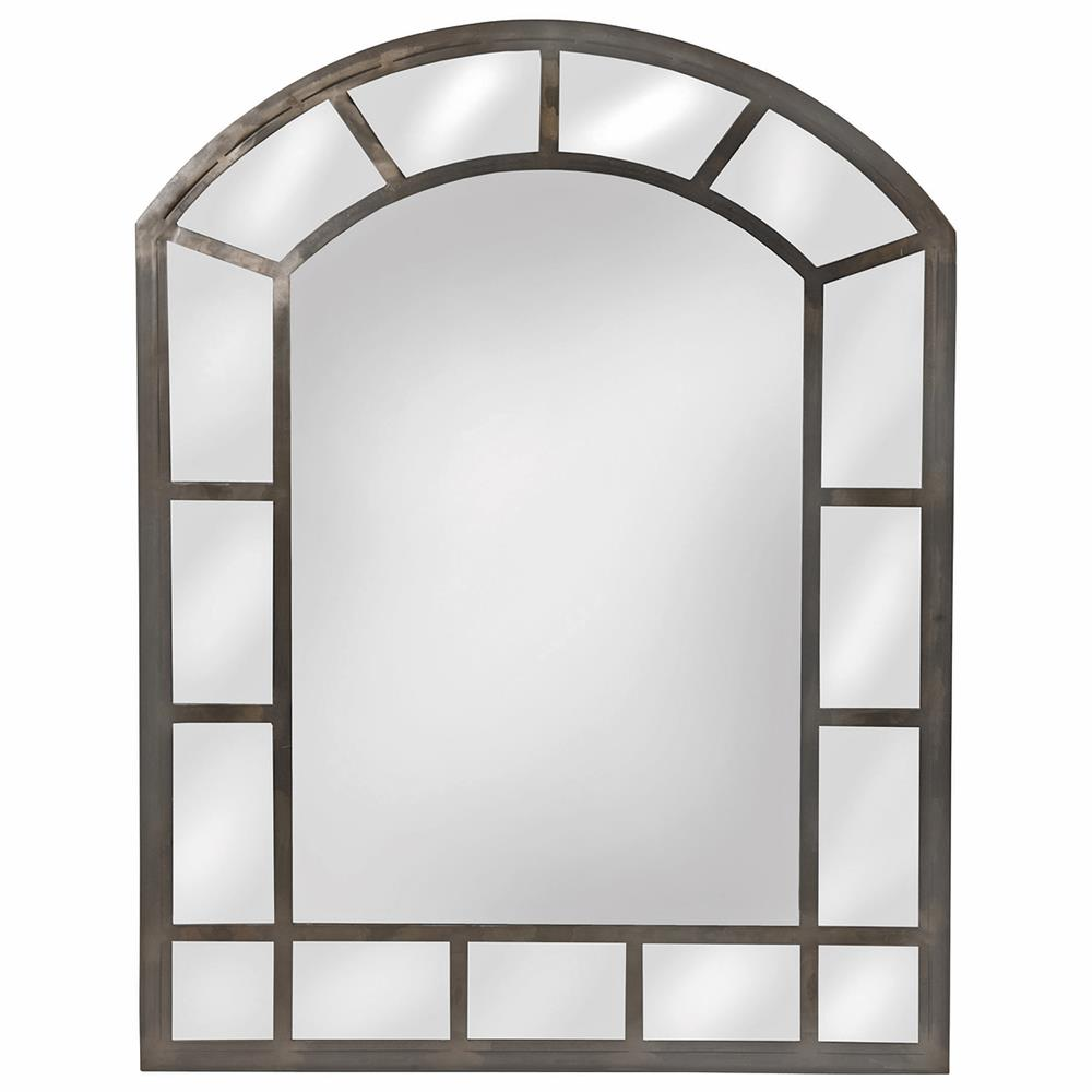 Basilica gothic arch raw iron wall mirror kathy kuo home amipublicfo Gallery