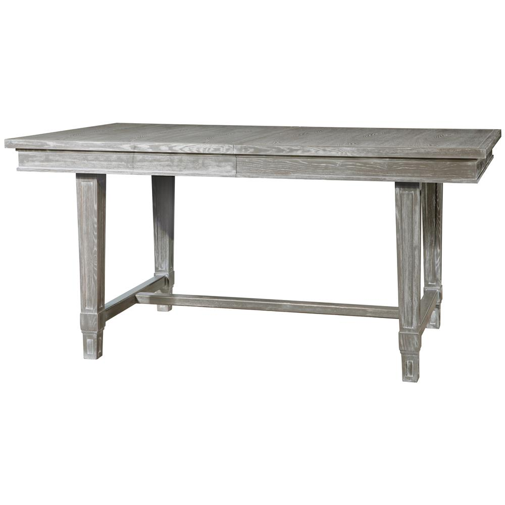 Danson Modern Classic Grey Cerused Oak Extendable Dining Table Kathy