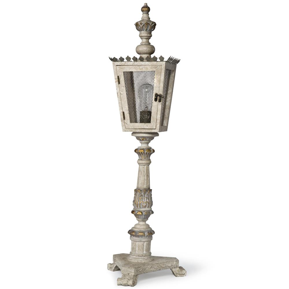 rudolph french country gold carved wood lantern table lamp kathy kuo. Black Bedroom Furniture Sets. Home Design Ideas