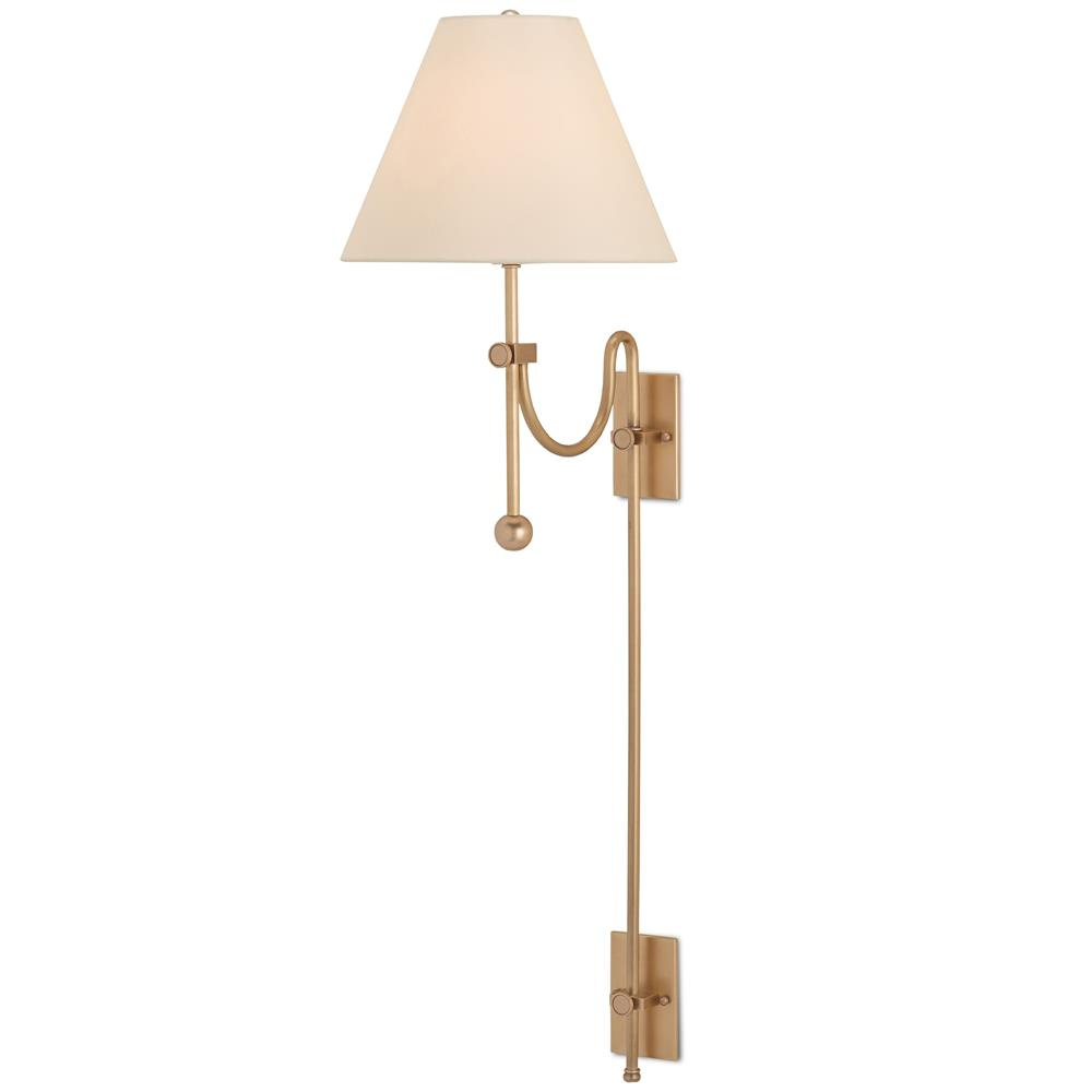Classic Brass Wall Sconces : Alivia Modern Classic Warm Brass Swag Wall Sconce Kathy Kuo Home
