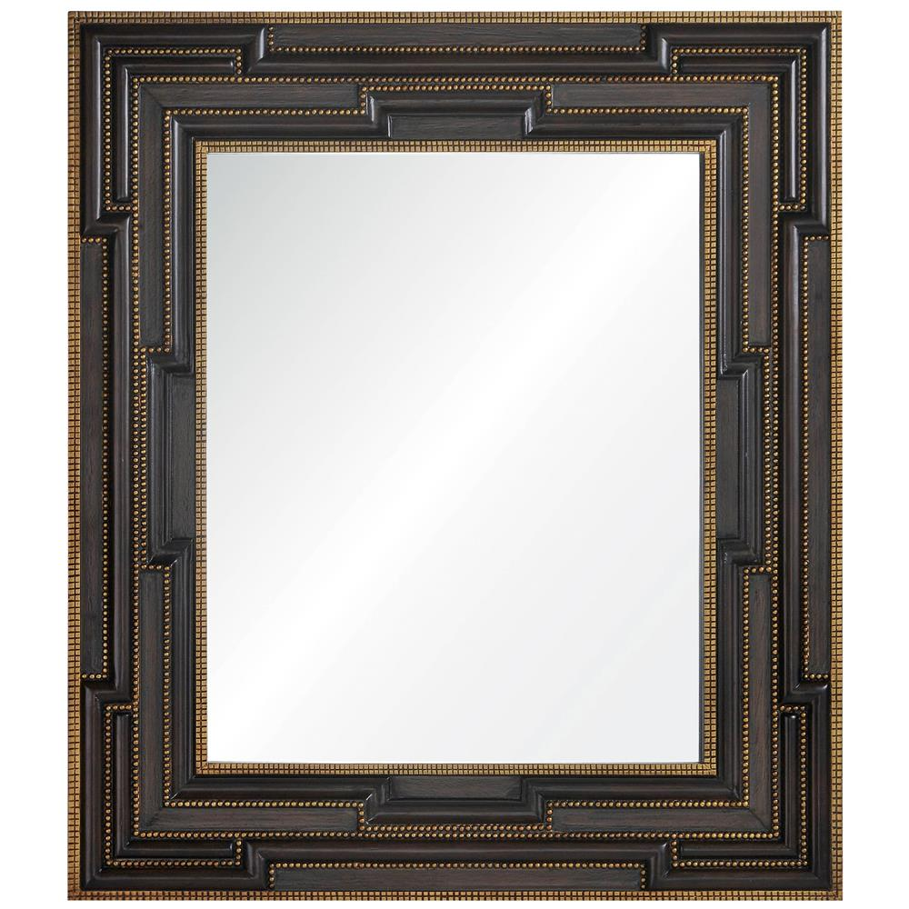 constantine global bazaar masculine brown gold leaf frame