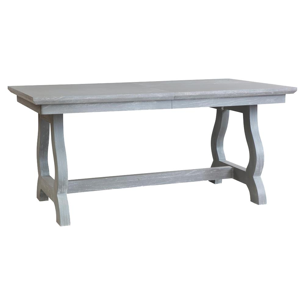 Potter Modern Classic Grey Farmhouse Adjustable Dining Table