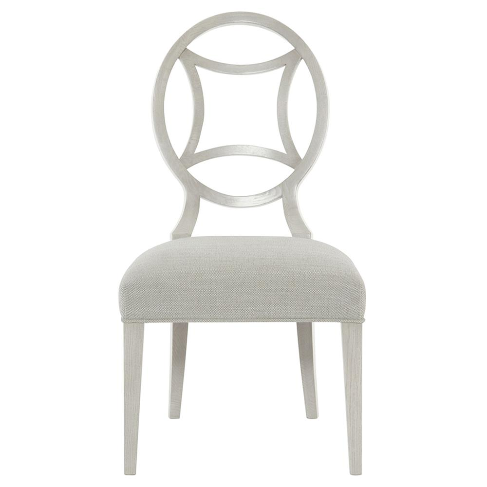 Gretta Grey Hollywood Regency Medallion Heather Grey Side Chair   Pair |  Kathy Kuo Home ...
