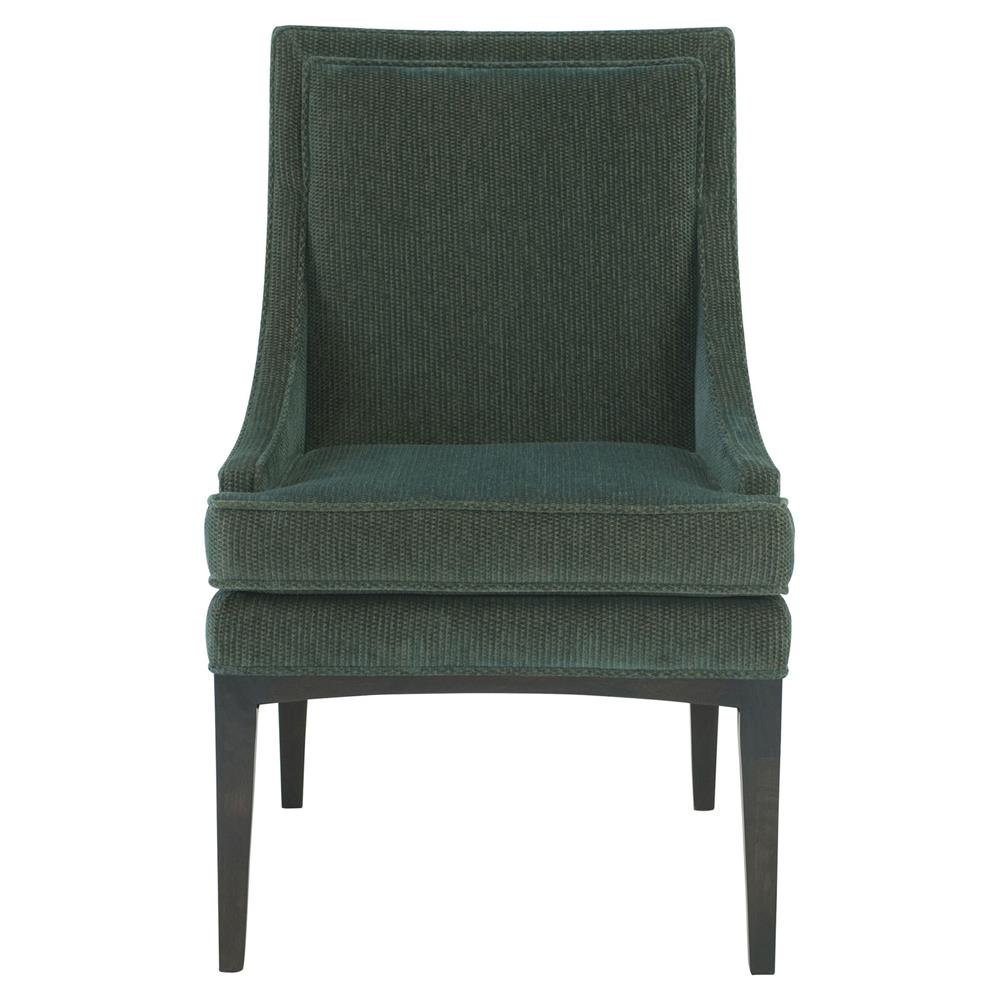 Modern classic armchair - Cacia Modern Classic Emerald Gold Slope Armchair Pair Kathy Kuo Home