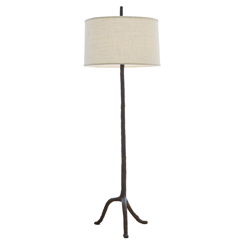 Missoula rustic lodge brown walking stick burlap shade floor lamp missoula rustic lodge brown walking stick burlap shade floor lamp kathy kuo home mozeypictures Images