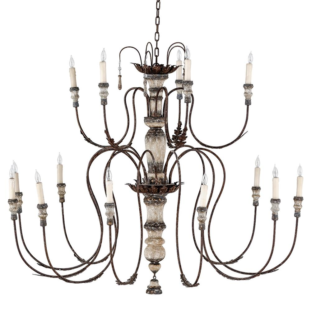 Deonte french country delicate arm rustic chandelier French country chandelier