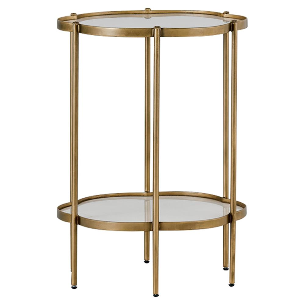 aspen hollywood regency white gold petal end table kathy kuo home. Black Bedroom Furniture Sets. Home Design Ideas