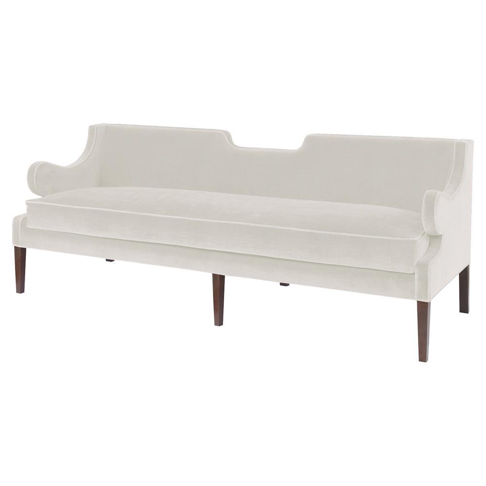 Mr brown draper sofa modern classic notch sofa snow for Sofa modern classic