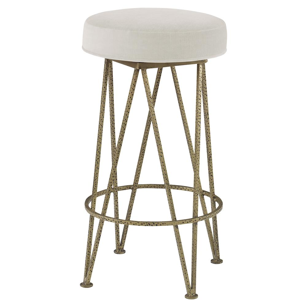 Lucy Modern Gold Hairpin Counter Stool Snow White Velvet  : product14433 from www.kathykuohome.com size 1000 x 1000 jpeg 62kB