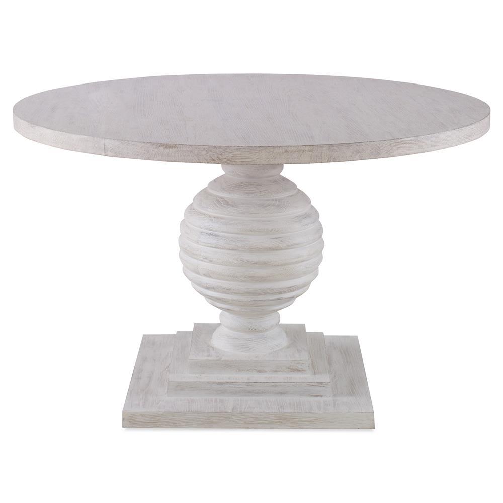 Ingmar Modern Classic White Oak Baluster Dining Table