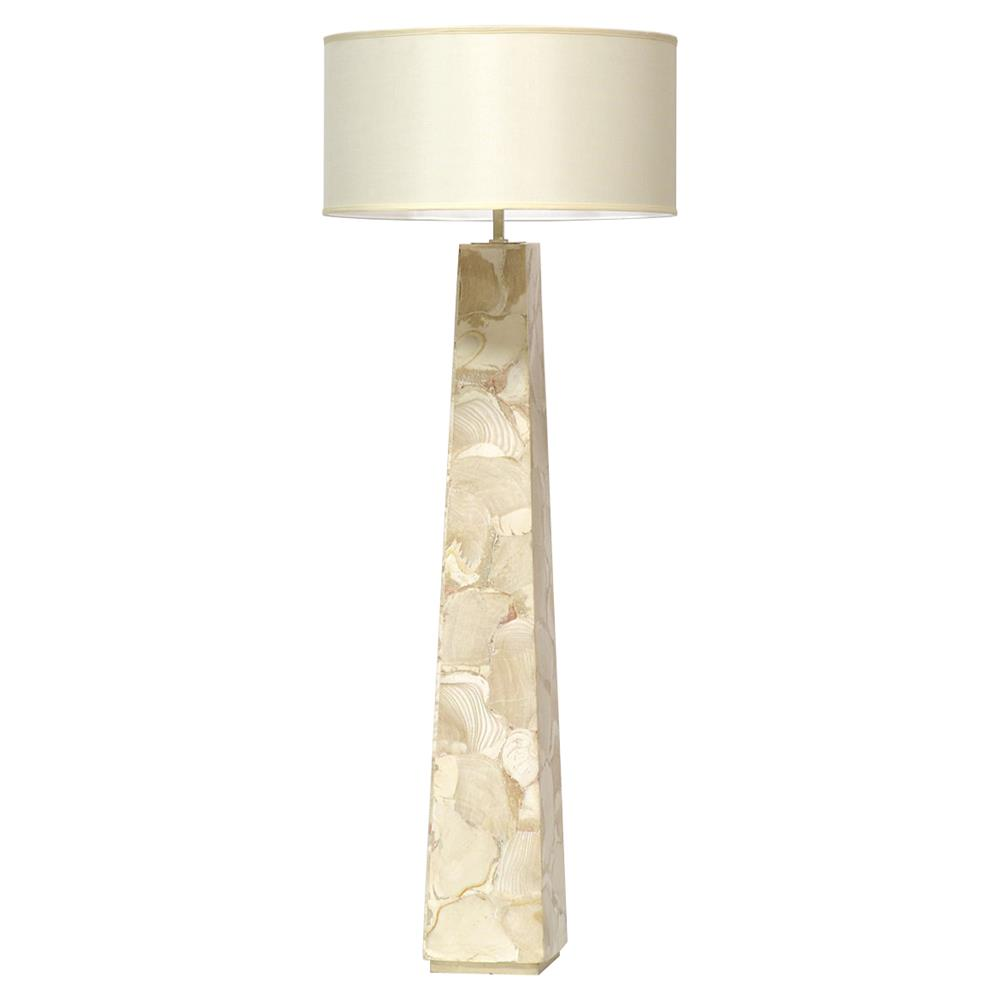lighting floor lamps cerelia coastal beach fossilized clam floor lamp. Black Bedroom Furniture Sets. Home Design Ideas