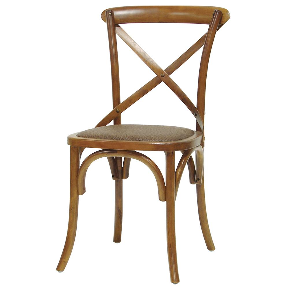Magritte french country mahogany brown cane bistro chair kathy kuo home - Cane bistro chairs ...