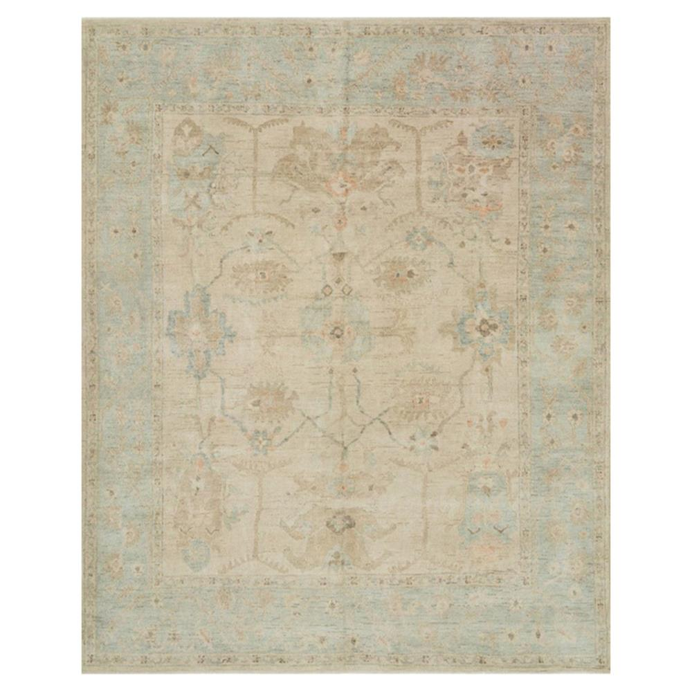 Forrest french antique blue stone wool rug 8 39 6x11 39 6 for Stone mineral wool