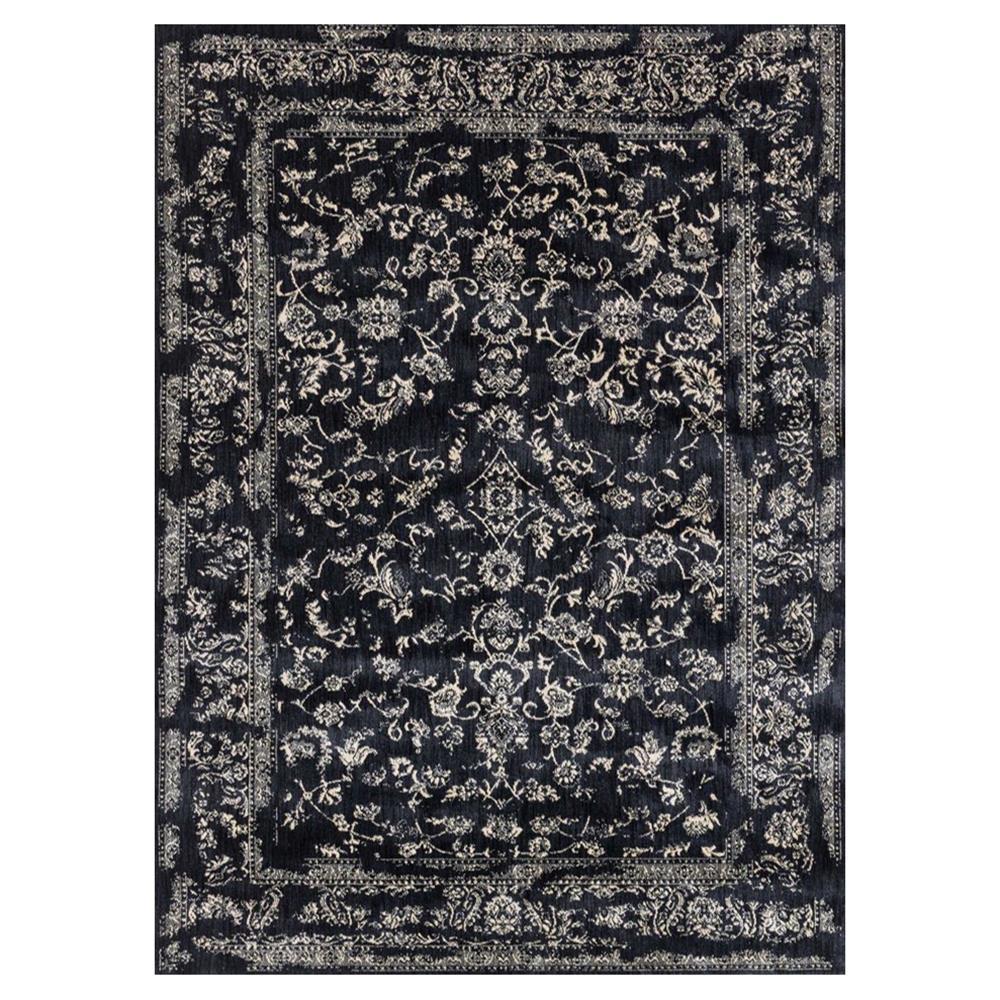 Mina hollywood regency black scroll rug 7 39 10x10 39 10 for 10x10 carpet
