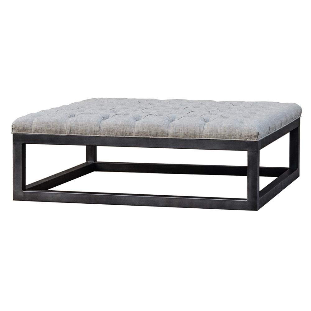 Tufted Coffee Table Country Grey Tufted Wood Coffee Table Square Tufted Linen Elm Coffee