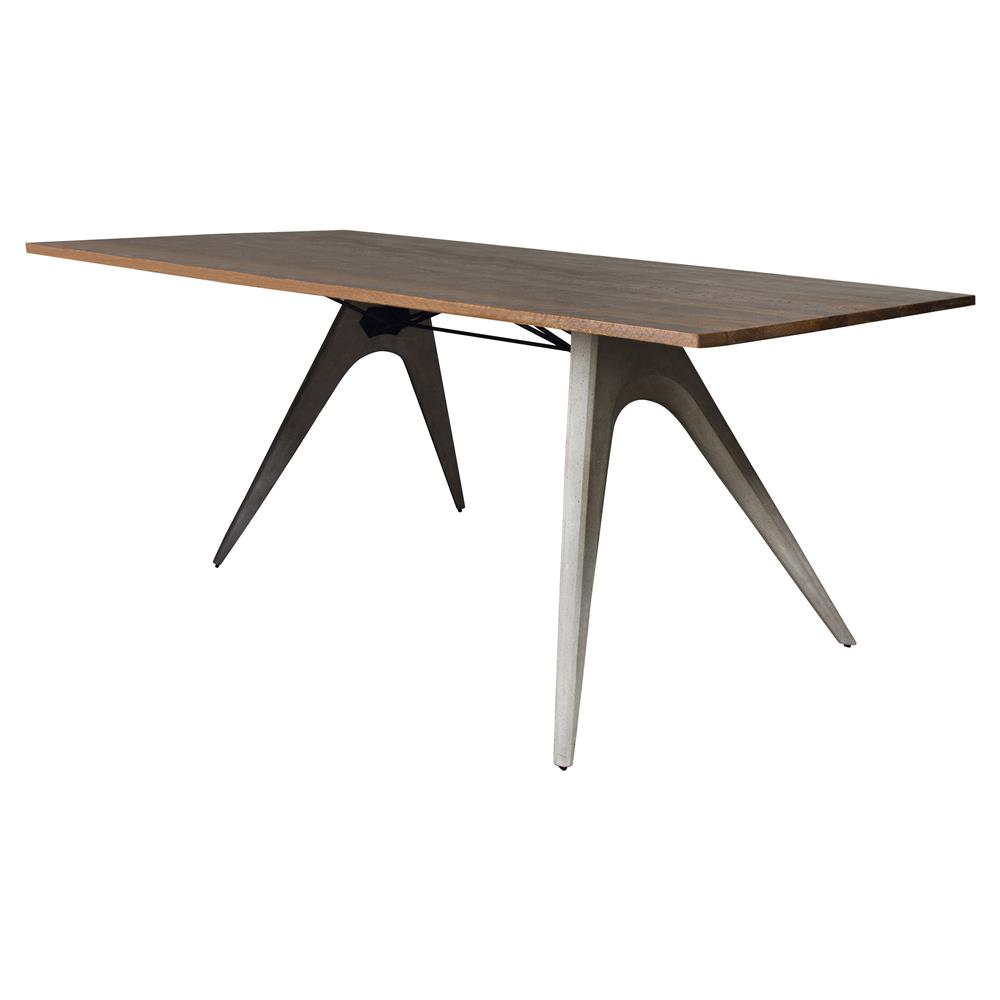 Tables Dining Tables Christian Industrial Loft Concrete Wood Dining