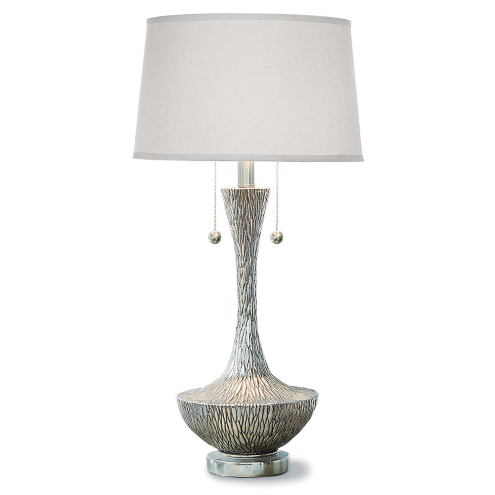 andru global bazaar silver embossed table lamp kathy kuo home