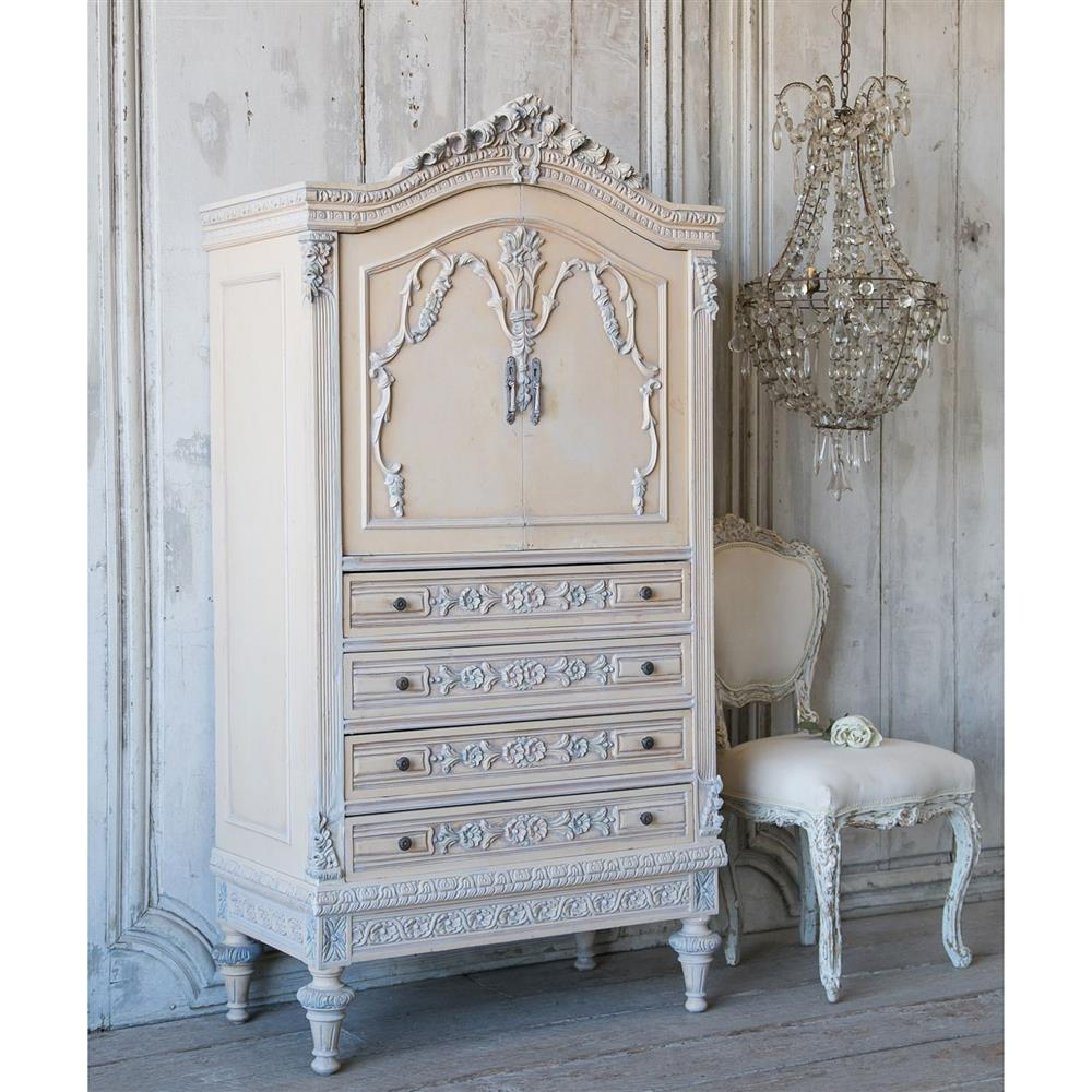 Superieur Eloquence® Vintage Armoire 1940 | Kathy Kuo Home