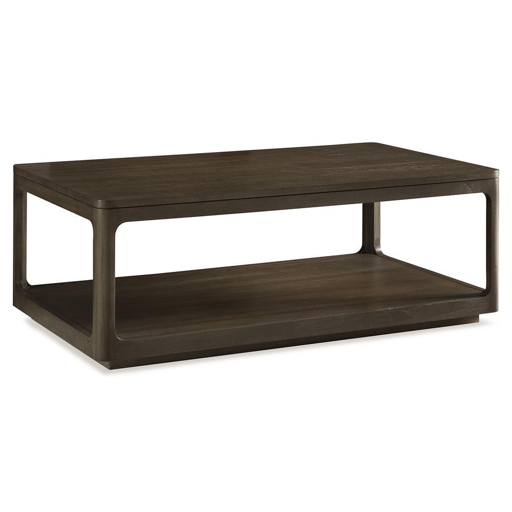 Robin Modern Classic Polished Teak Cube Coffee Table