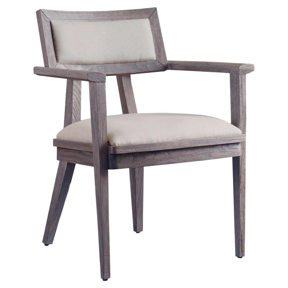 Priscilla Mid Century Modern Natural Upholstered Teak ...