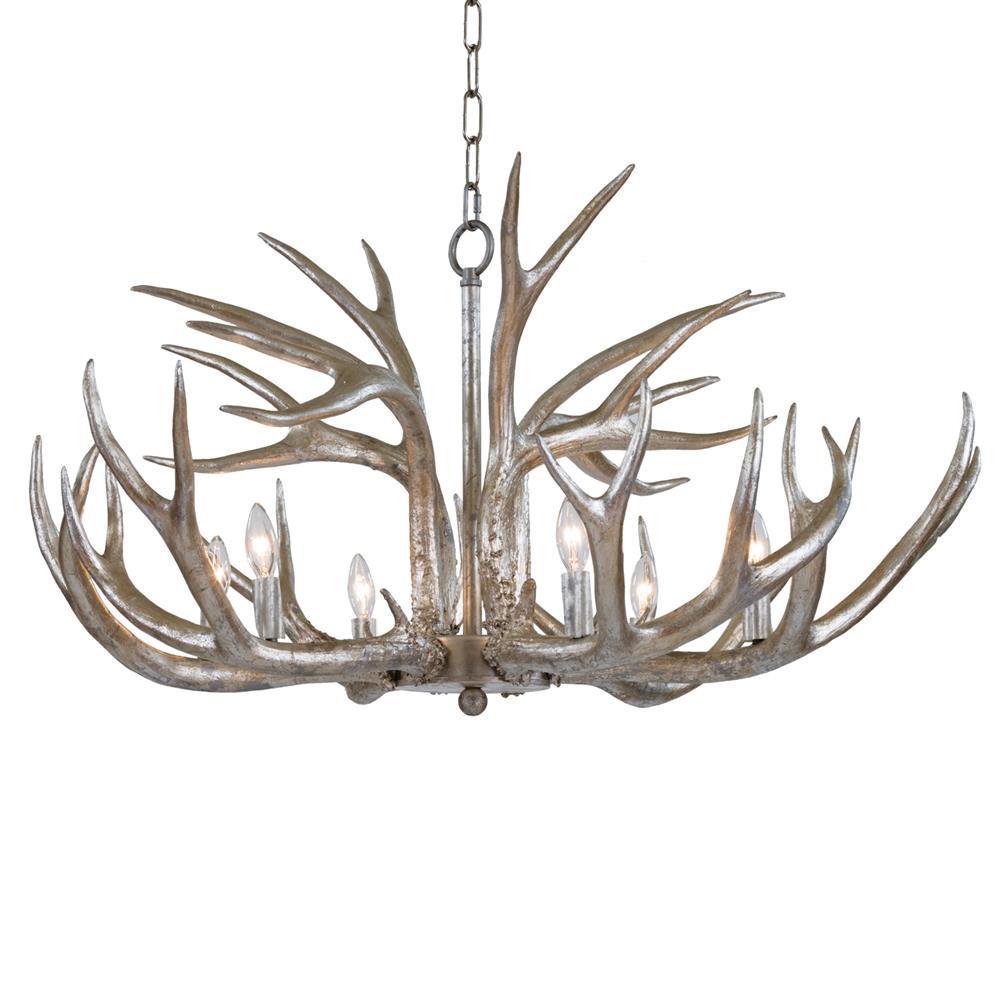 opal light with leaf silver wide aiyana zm medium chandeliers product lighting golden chandelier