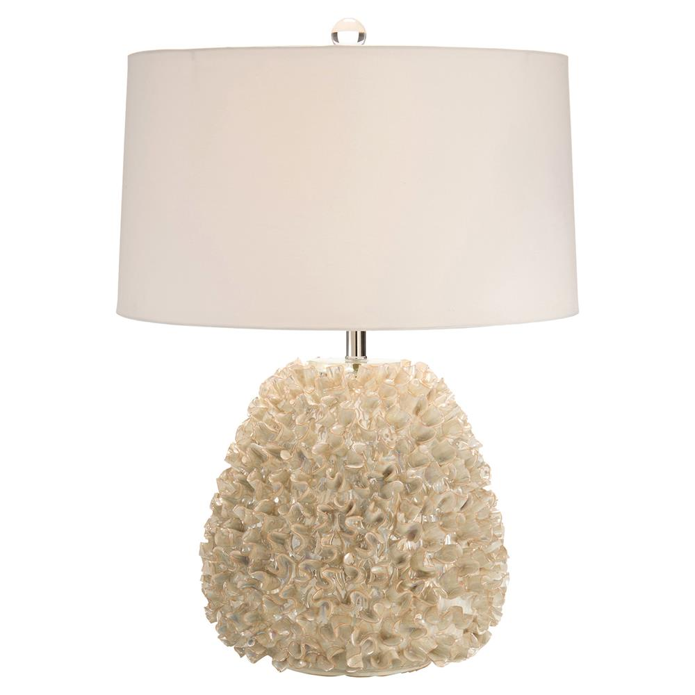 Bethany coastal beach pearlized ruffle silver table lamp kathy bethany coastal beach pearlized ruffle silver table lamp kathy kuo home geotapseo Image collections