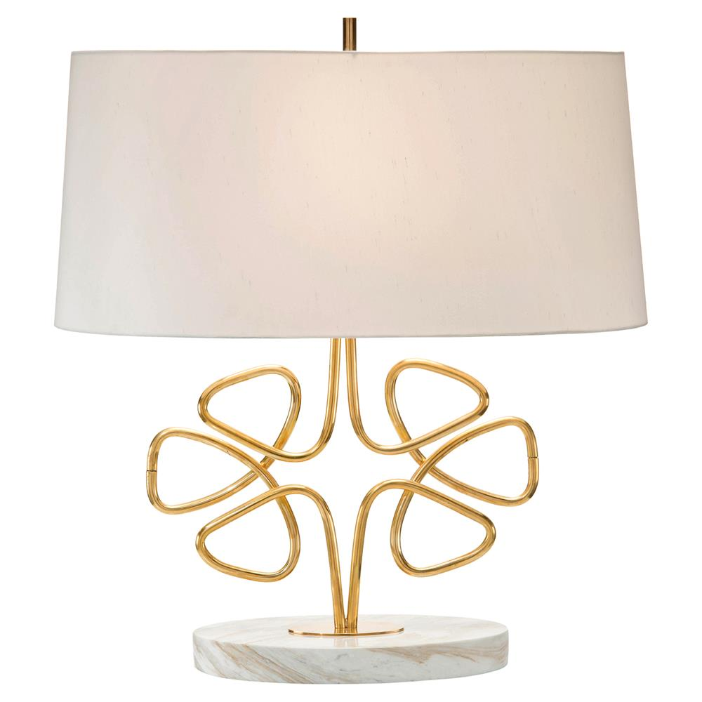 John richard isaac classic gold wire clover marble table lamp john richard isaac classic gold wire clover marble table lamp kathy kuo home greentooth Gallery