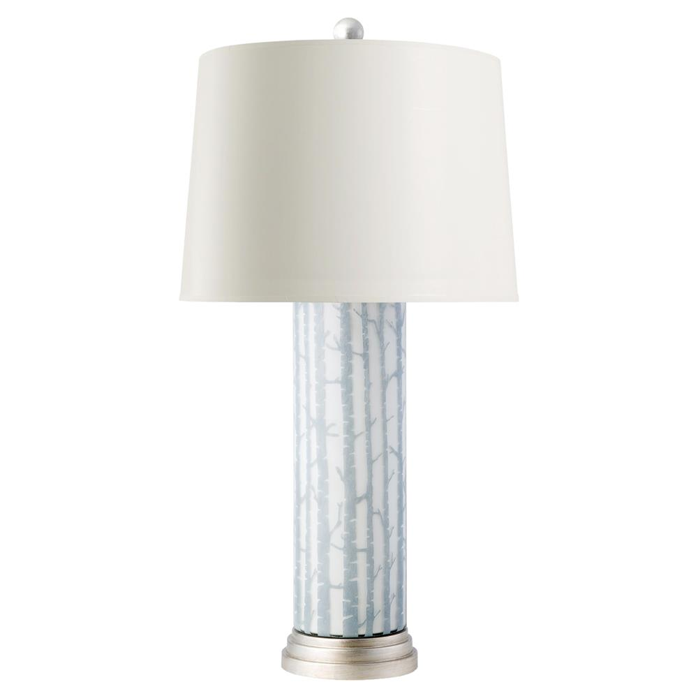 Everest modern grey birch layered glass cylinder paper table lamp everest modern grey birch layered glass cylinder paper table lamp kathy kuo home mozeypictures Images