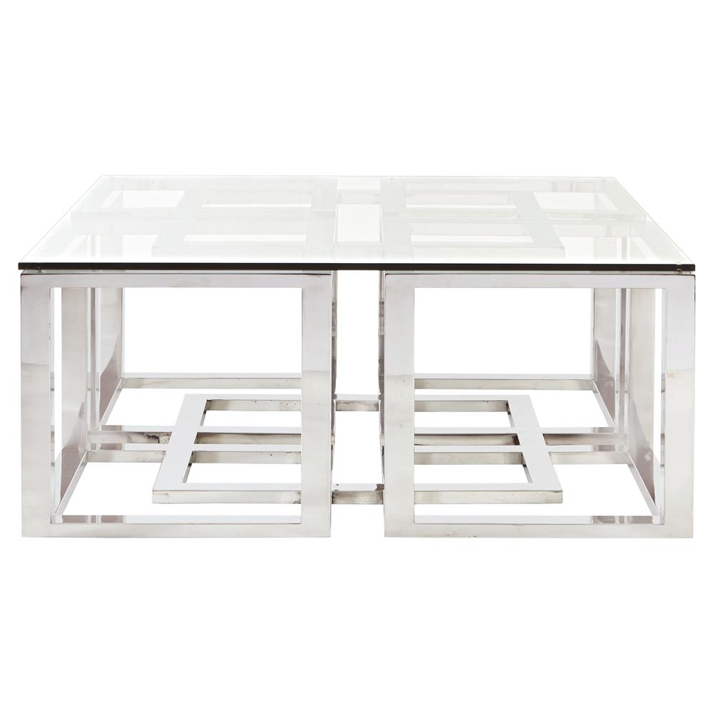 thelightlaughed table elegance tables looks coffee com chrome glass slim
