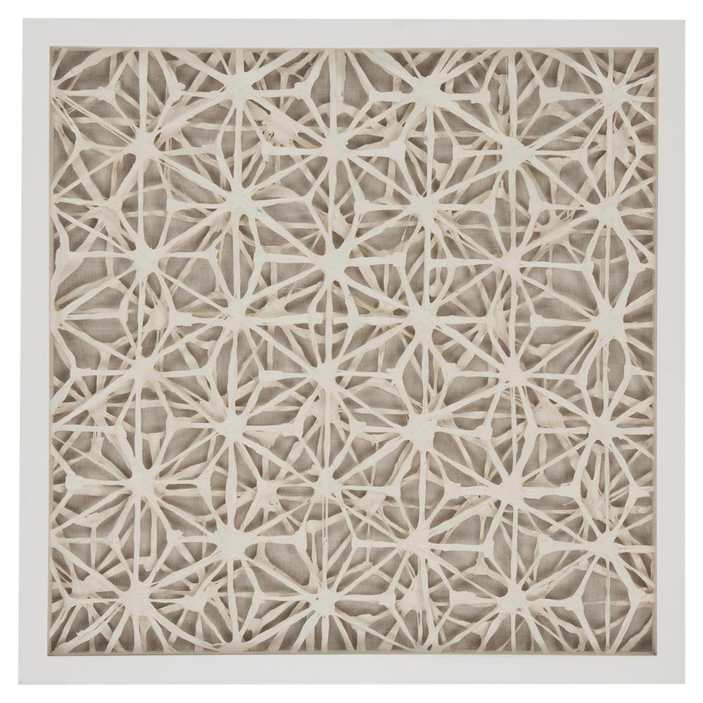 coastal modern abstract paper framed wall art ii kathy kuo home