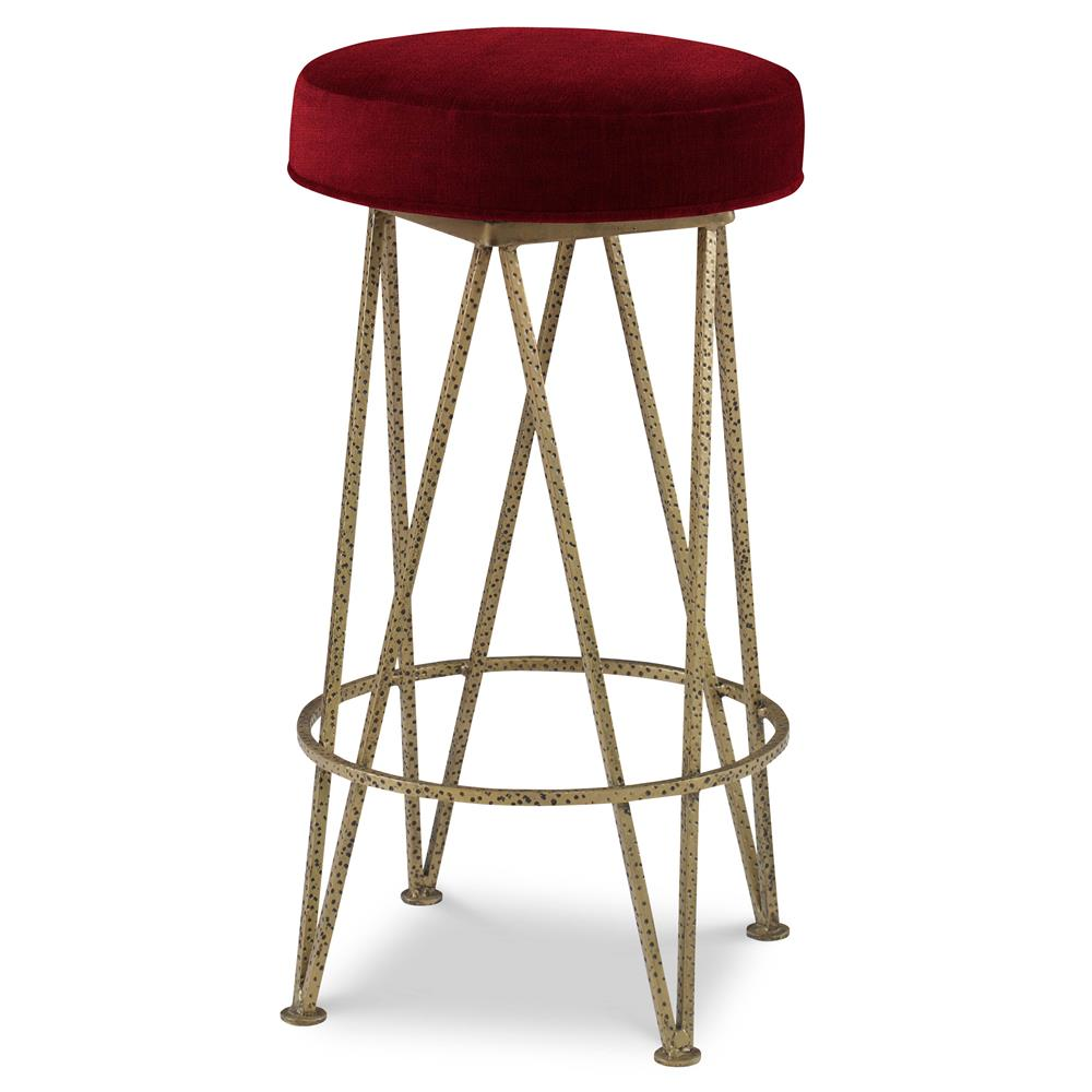 Mr Brown Lorca Modern Gold Hairpin Counter Stool
